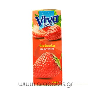 VIVA STRAWBERRY 0,25LIT