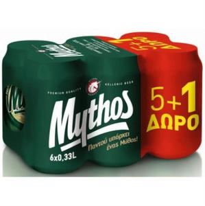 MYTHOS BEER 330ML*24MET